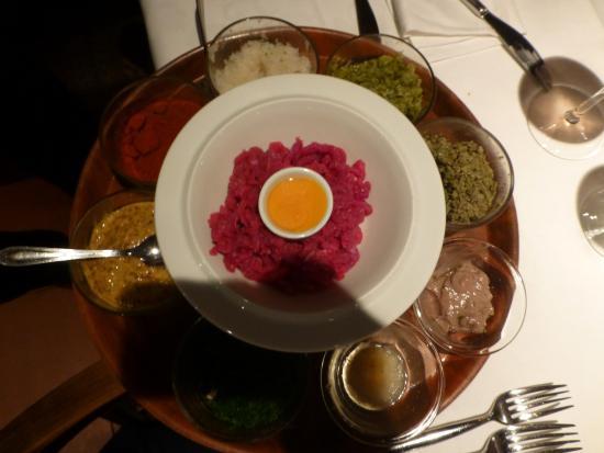 Restaurant am Schloss Rametz: Tartar