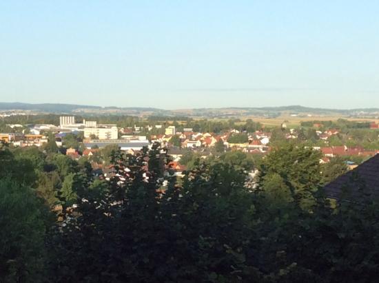 Hotel Jakob: Balkon uitzicht