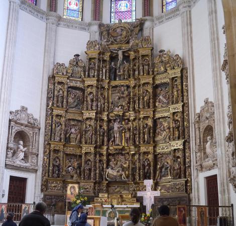 Retablo Picture Of Capilla Del Obispo Madrid Tripadvisor