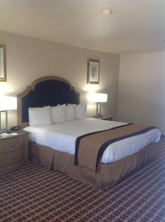 BEST WESTERN Heritage Inn: Bed