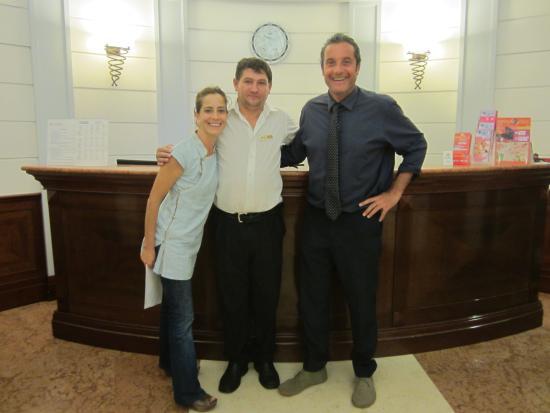 Hotel Hiberia: Hiberia Hotel The wonderful staff  Thank you so much Rafael and Nicolai