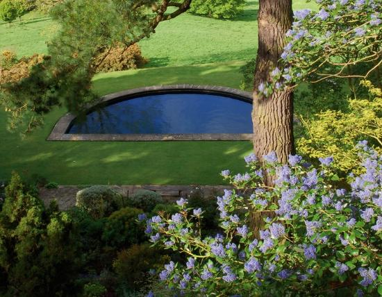 Chipping Campden, UK: View of the lower garden