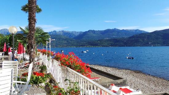 Terrasse des hotels picture of hotel rigoli baveno for Designhotel lago maggiore