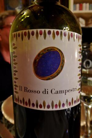 Vicchio, Italia: Hauseigener Wein