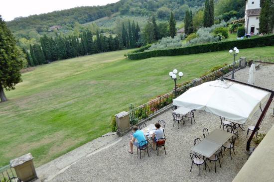 Villa Campestri Olive Oil Resort: Zimmeraussicht