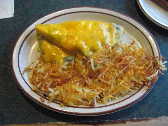 Chester, Kalifornien: Mushroom & Cheese Omelet
