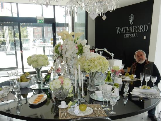 crystal table settings - Picture of Waterford Crystal, Waterford ...