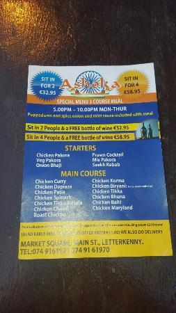 Ashoka Indian Restaurant & Takeaway: Ashoka