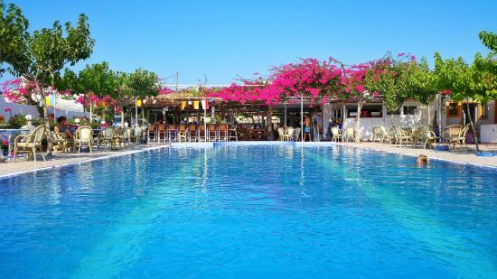 Santorini Camping: swimmingpool