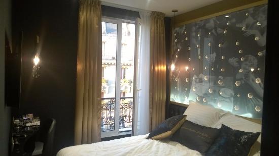room bild fr n hotel les bulles de paris paris tripadvisor. Black Bedroom Furniture Sets. Home Design Ideas