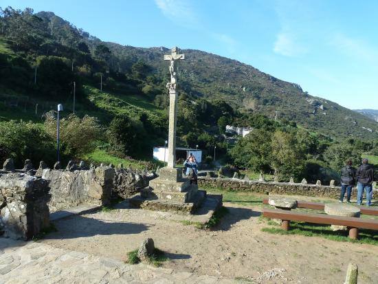 Cedeira, Spania: El cruceiro de la iglesia