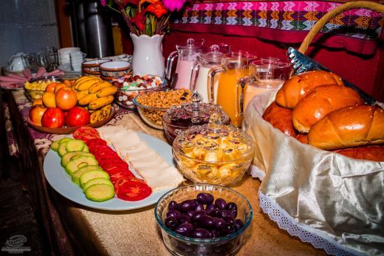 Marlon's House Cusco-Peru: Marlon's House Cusco Breakfast
