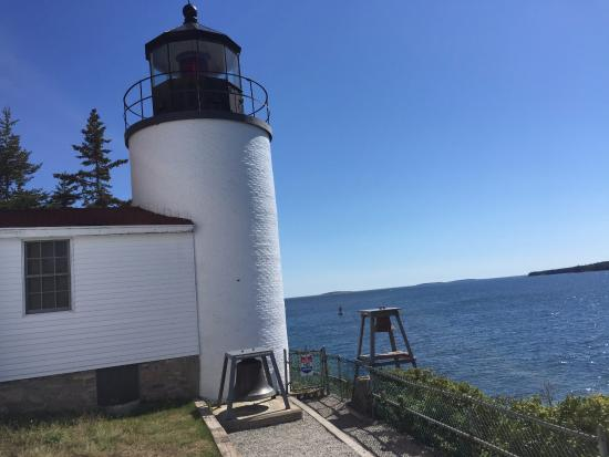 Bass Harbor Head Lighthouse via path to the right from the parking lot.