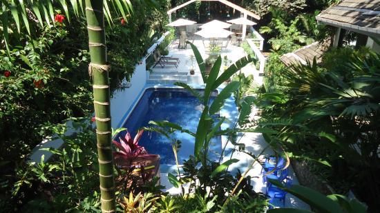 Hotel Mandarina: Vista de la piscina/Pool view