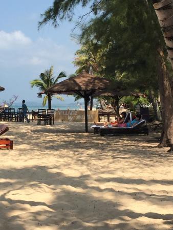Arcadia Phu Quoc Resort: Strand utanför Arcadia Resort, Phu Quoc