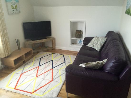 Kernow Trek Lodge: Wohnzimmer