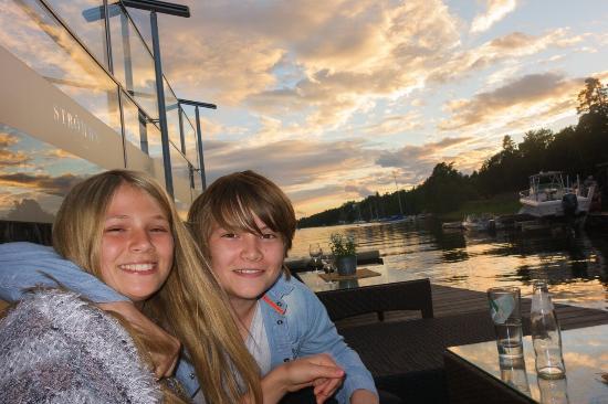 Varmdo, Sverige: Sunset