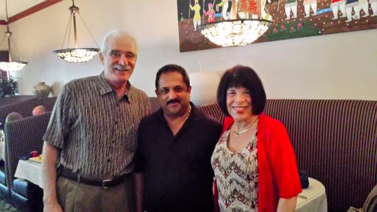 Indus Indian & Herbal Cuisine: Steve, Lawrence and Penny