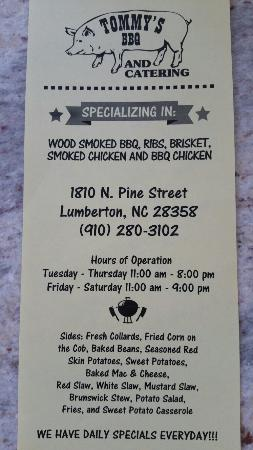 Tommy's BBQ and Catering