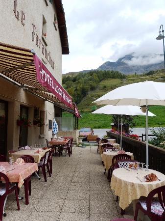 Villar-d'Arene, Frankrijk: terrasse