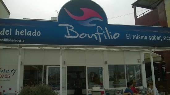 Resultado de imagen de heladeria bonfilio julio argentino roca puerto madryn