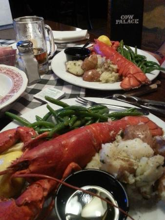 Cow Palace: Fresh Maine Lobster in the Desert!! Last Friday of the Month!