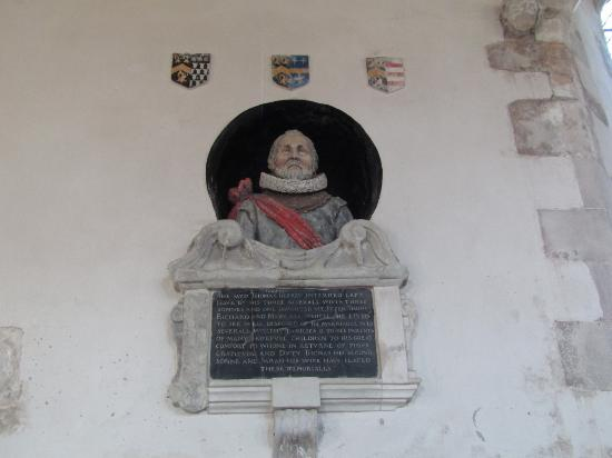 Lydd, UK: Memorial to Thomas Godfrey
