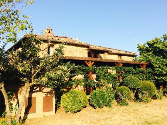 Tavernelle di Panicale, Ιταλία: Het restaurant van buitenaf