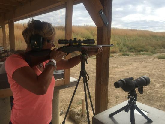 Fort Carson, CO: Life made easy at shooting range.