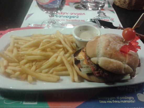 Hippopotamus: Burger 3 fromages