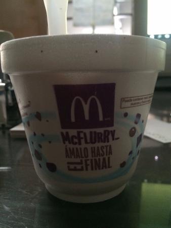 McDonald's : helado