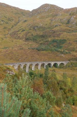 "Glenfinnan, UK: On the way to ""Hogwarts"""