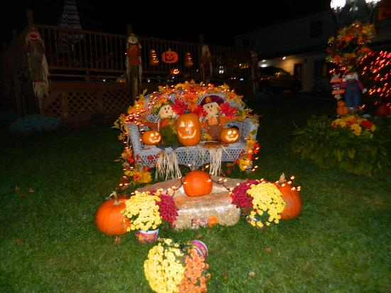 Williamstown, MA: Cute decorations