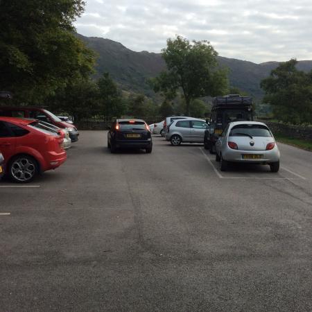 Seascale, UK: Carpark ripoff £8 all day
