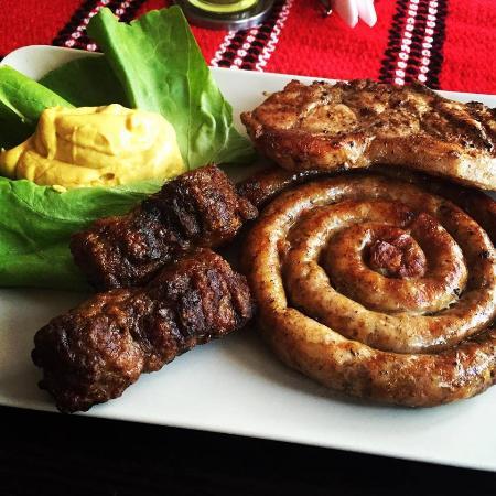 traditional romanian food food