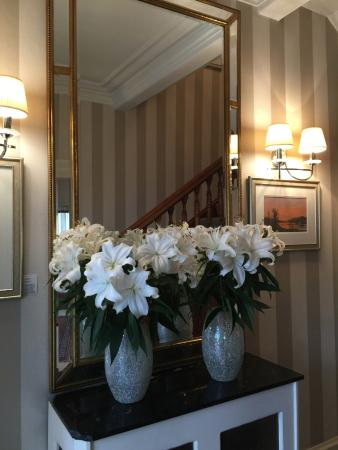 S Airds Hotel Scotland Fragrant Lilies at Hotel Entrance - Picture of Airds Hotel ...