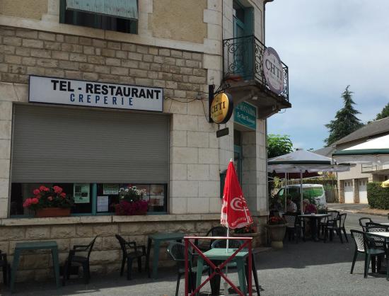 Rouffignac, France: Exterior of LE Monrauriol (not La)