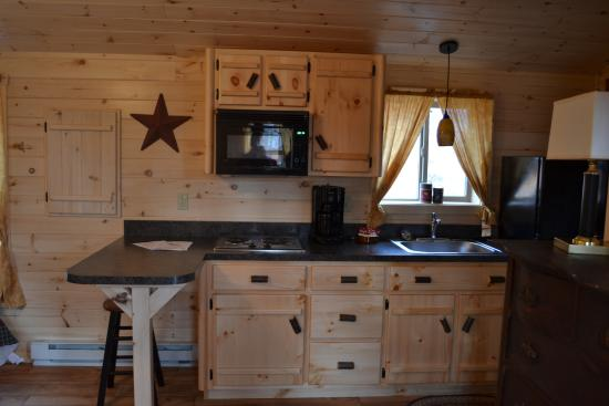 Berwick, Πενσυλβάνια: efficency kitchen