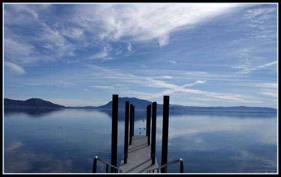 Dock near the town of Nice Clearlake C.A.