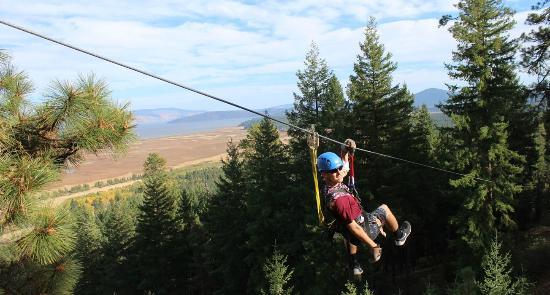 Parcs aventures aériens et Tyroliennes