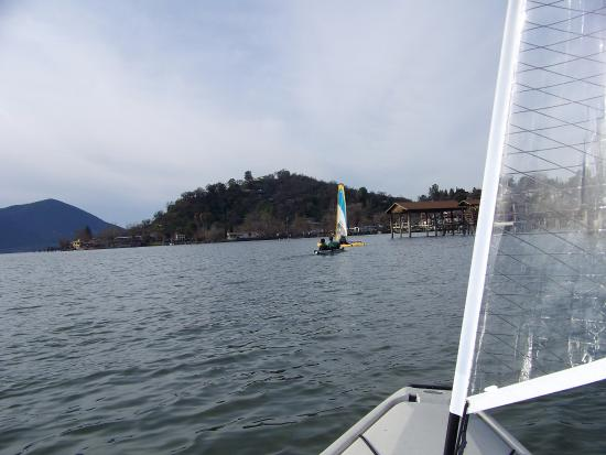 Boating on Clearlake C.A.