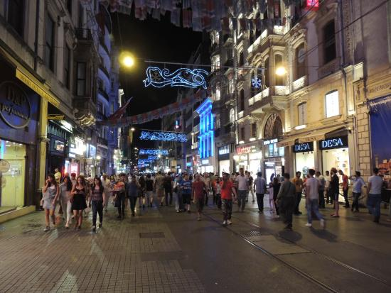 Riva Hotel: CALLE ISTIKLAL