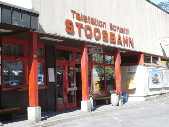 Schwyz, Switzerland: Stoosbahn entrance