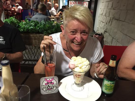 Hog's Breath Cafe: Granny's trifle