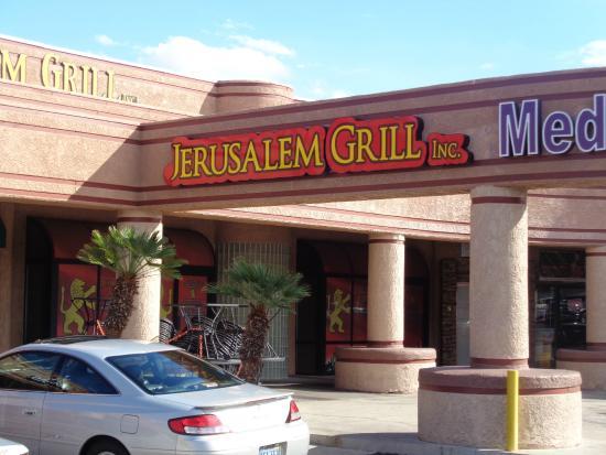 Jerusalem Grill Vegas: Front