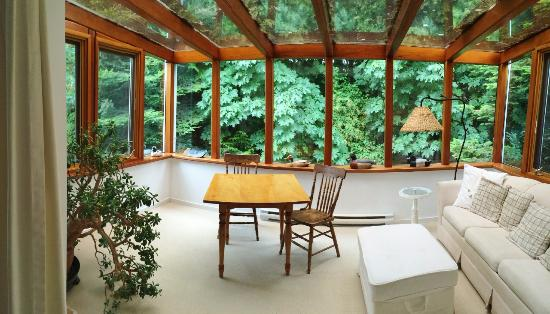 Solarium Of The Kingfisher Room Picture Of Sooke Harbour