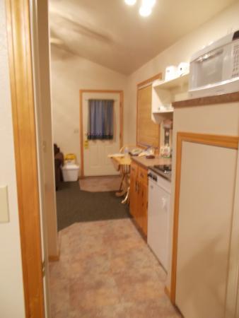Swan Valley, ID: Kitchen towards front door