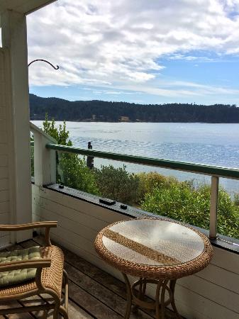 Sooke Harbour House: View from the Kingfisher Room