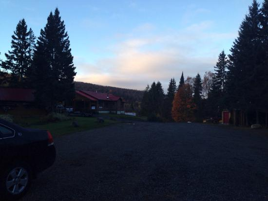 The colors were Amazing during our visit to MountainView Lodge