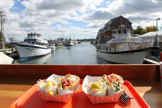 The Lobster Rolls - Picture of Portland Lobster Co, Portland ...